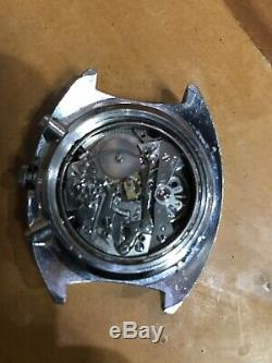 Vintage Seiko 6139-6005 Chronograph Automatic Watch, FOR PARTS, Not working