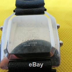 Vintage Seiko G757-5020 Sport 100 Quartz LCD Watch For Service Or Spare Parts