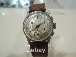 Vintage Swiss Manual WIND Watch Telemeter & Tachymeter Not working