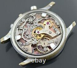 Vintage Tourneau Chronograph Venus Cal. 170 Watch For Parts or Repair (AS IS)