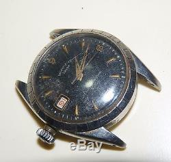 Vintage Tudor 7944 Waffle Dial Automatic Watch For Repair Parts Project