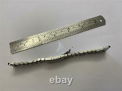 Vintage Ulysse Nardin 20mm Stainless Steel Watch Bracelet For Parts