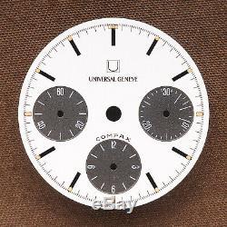 Vintage Universal Geneve Compax Dial # U2