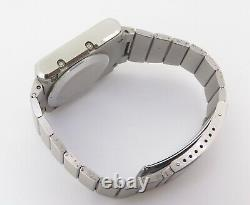 Vintage Zenith Quartz Time Command LED Watch Not Working Good for parts