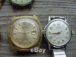 Waltham Watch Parts Lot