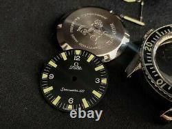 Watch Parts For Omega Seamaster 300 vintage gents watch COMPLETE KIT. 165.024