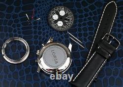 Watch kit for ETA Valjoux 7750 movement with all parts new XXL Case