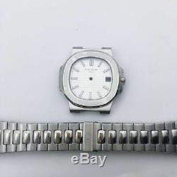 Watch repair parts for 5711 watch case kit FIT 284 movement 316l steel 40mm