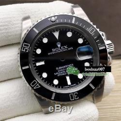 Watch repair parts for balck submariner watch case kit FIT 2836 movement 116600