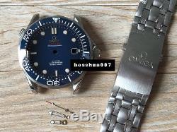 Watch repair parts seamaster watch case kit fit eta 2824 movement 40mm