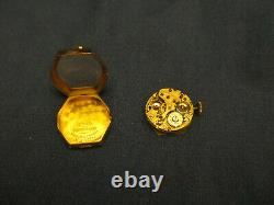 Watchmaker Estate Genuine Vintage Solid Gold Early Women's Rolex 4 Parts Repair