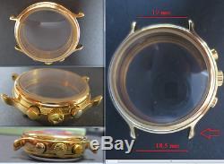 Zenith el primero 400 cal cassa crono chronograph old wrist case watch for parts