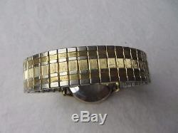 Zodiac Watch SST 36000 Automatic AS IS for Parts or Repair Gold #J5314